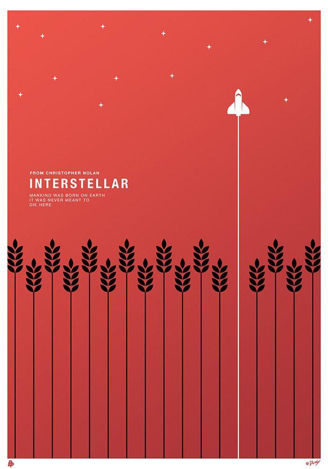 Quand l'affiche d'Interstellar, le film de Christopher Nolan qui vient de sortir sur les écrans, est imaginée par les artistes. Dans un futur proche sur une Terre exsangue, un groupe d'explorateurs mené par Cooper utilise un vaisseau interstellaire pour franchir un trou de ver, récemment découvert, permettant de parcourir des distances jusque-là infranchissables afin de …