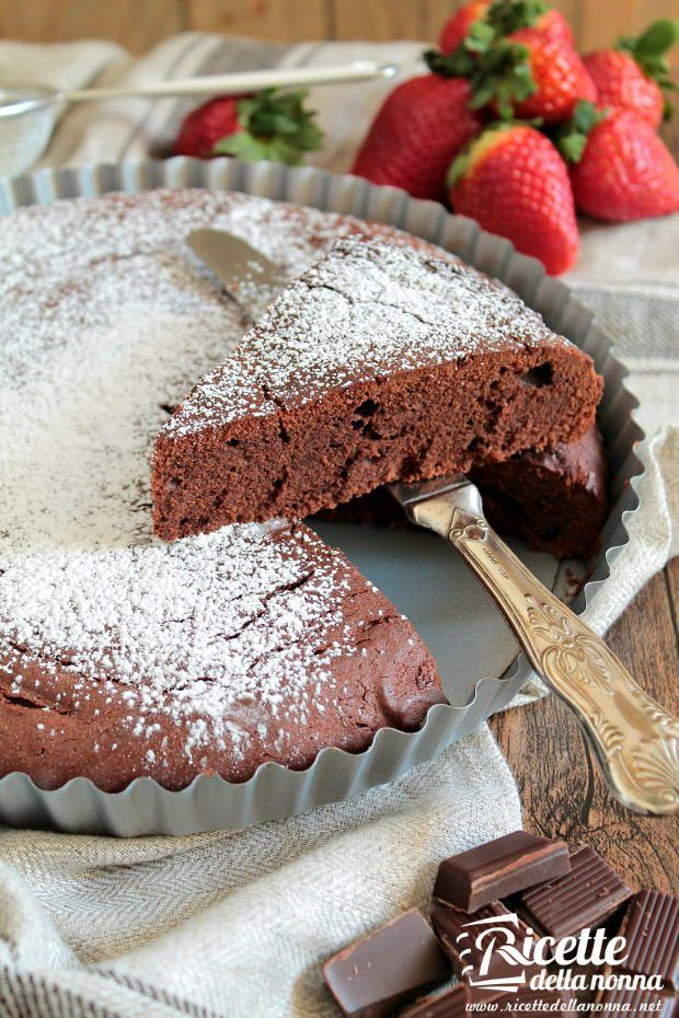 Torta al cioccolato supercioccolatosa ricetta e foto