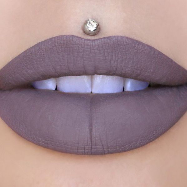 Scorpio Velour Liquid Lipstick By Jeffree Star Cosmetics - This is what happens when grey and purple make love. Jeffree is a Scorpio, so it's only fitting he made a color in it's honor!