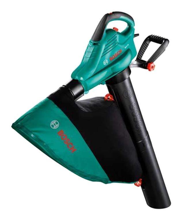 Aspirador-Soplador-Triturador 2500W Bosch #maquinariajardin #soplador