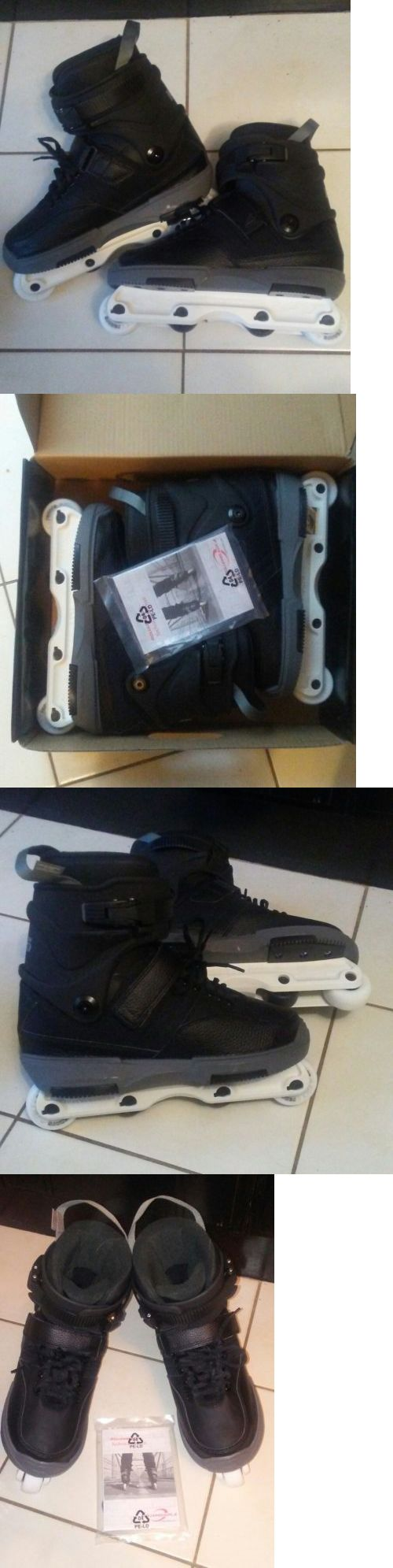 Men 47346: Rollerblade Nj5 Aggressive Inline Skates Size 9 -> BUY IT NOW ONLY: $160 on eBay!