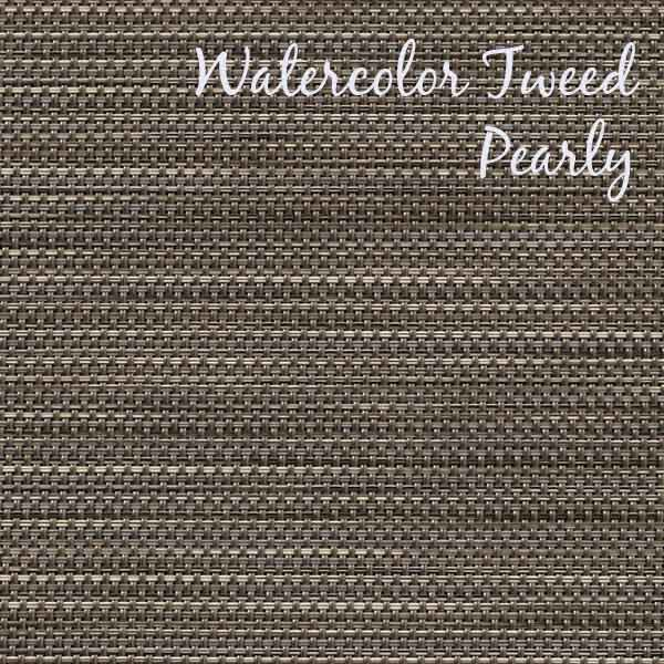 Phifertex Watercolor Tweed Pearly Sling Fabric Durable Outdoor