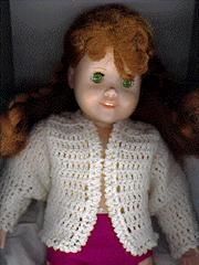 Spring Sweater for 18 inch doll