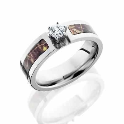 camo engagement ring