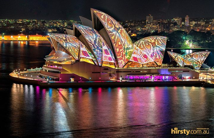 Who's ready for Vivid Sydney 2015? Image: Hirsty Photography