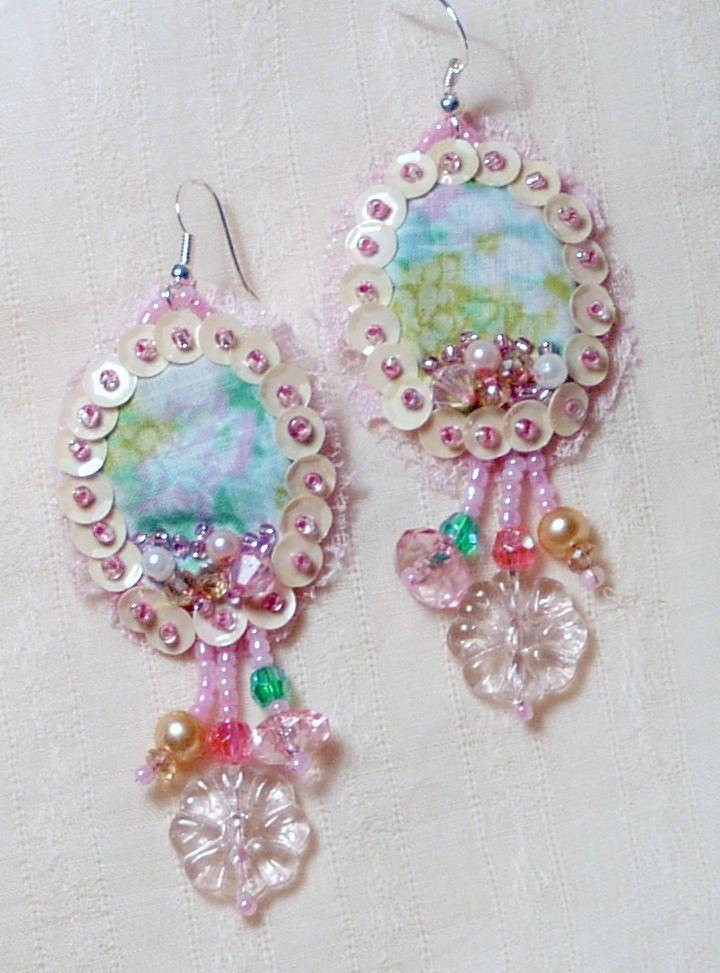 Lovely Spring Handmade Earrings