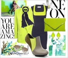 Zestaw ubrań Amazing neon