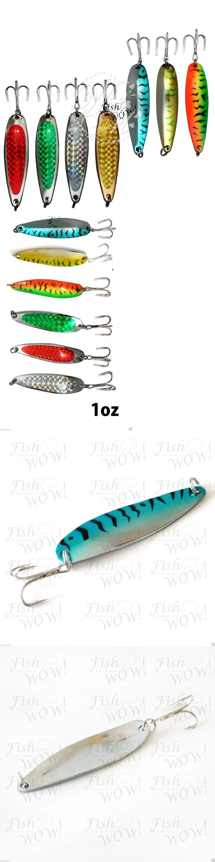 Spoons 31692: 1To20pc Random Colors 1Oz Fishing Spoons Kroc Fish Jigs Casting Lures Baits New -> BUY IT NOW ONLY: $37.94 on eBay!