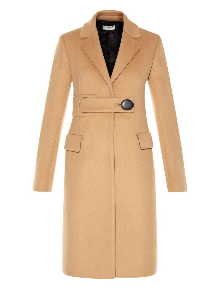 Belted single-breasted coat | Balenciaga | MATCHESFASHION.COM