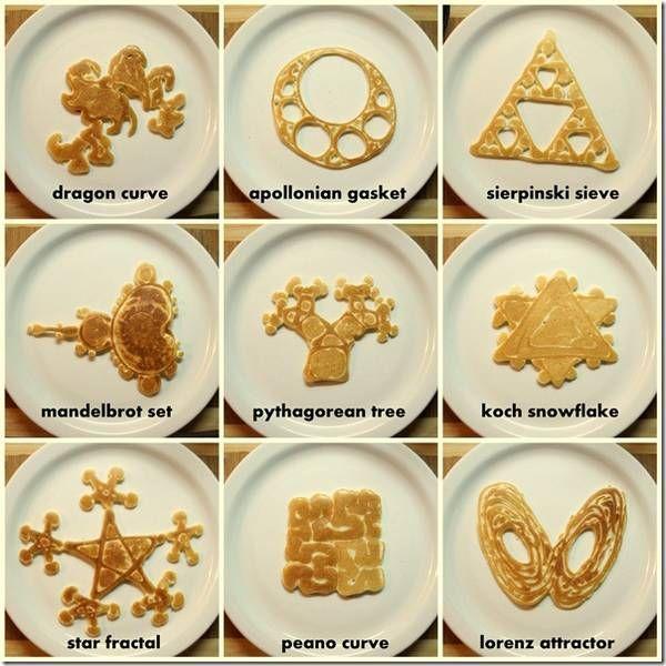 Fractal pancakes