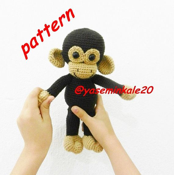 Hey, I found this really awesome Etsy listing at https://www.etsy.com/listing/454370008/amigurumi-monkey-pattern