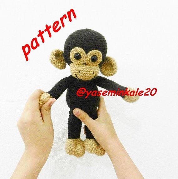 Hey, I found this really awesome Etsy listing at https://www.etsy.com/listing/454370008/amigurumi-monkey-pattern