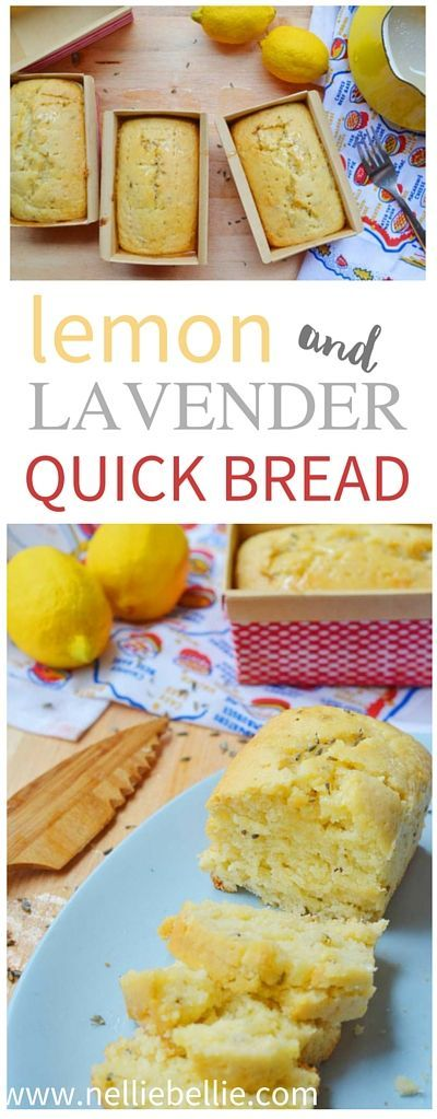 Lavender and lemon are paired together to make this absolutely delightful quick bread that you will have in the oven in under 20 minutes...flat! Because this bread is so easy and delightful, it is one of my personal favorites and I make it often for my personal coffee time