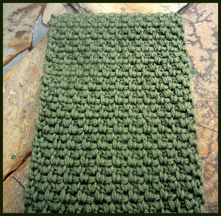 Crocheting: tight stitch Crochet Pinterest Scarves For Men ...