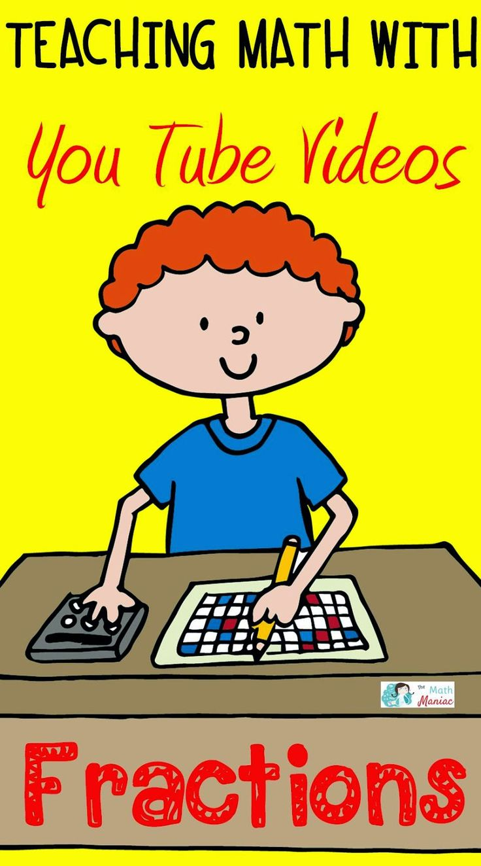 http://theelementarymathmaniac.blogspot.com/2014/03/teaching-math-with-you-tube-videos.html