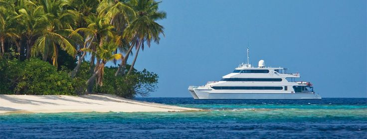 Four Seasons private dive boat in the Maldives...one day we'll go back there