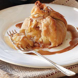 Pennsylvania Dutch Apple Dumplings:  A nice twist on a traditional Thanksgiving dessert