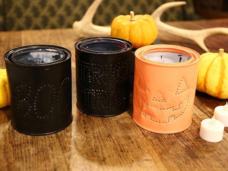 空き缶リメイク術!ハロウィンランタンをDIY! - CANDIY | シティガールのDIYレシピ&ツールのセレクトショップ