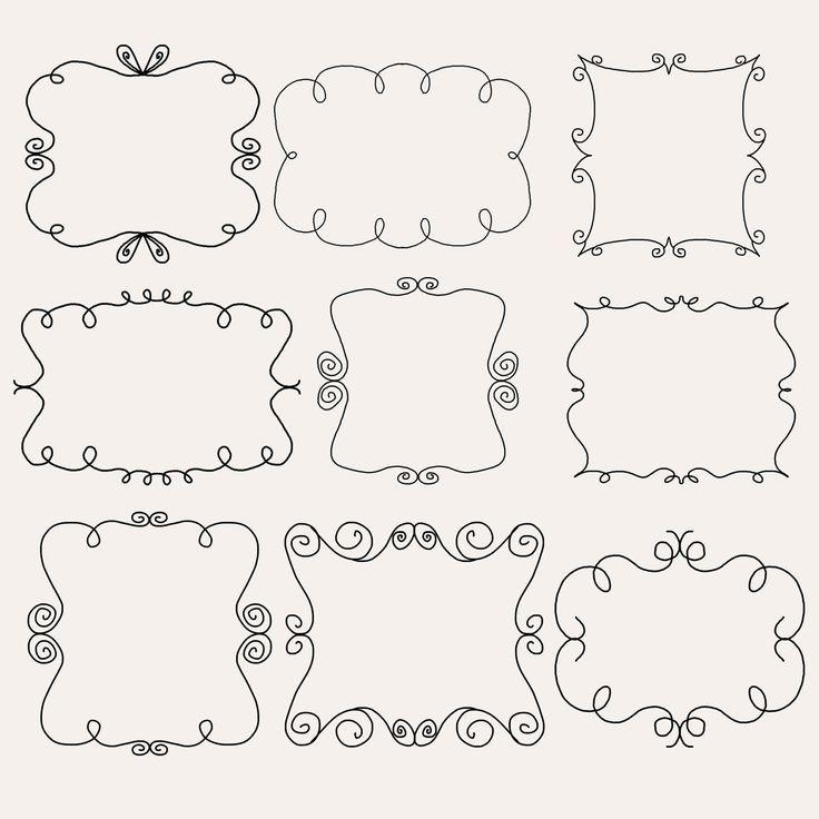 132 best Calligraphy Flourishes images on Pinterest ...