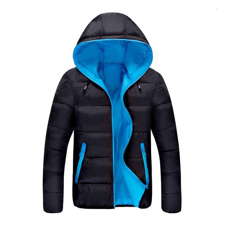 2016 Hot Selling Fashion Casual winter jacket men Coat Comfortable&High Quality Jacket 3 Colors Plus Size XXXL Wholesale