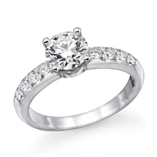 WOW! WOW! WOW! 1 ctw. Round Diamond Solitaire Engagement Ring in 14k White Gold: Natural Diamond: WAS $4999.999 **~~** NOW $899.99 **~~** http://www.amazon.com/gp/product/B007I00M6C/ref=as_li_qf_sp_asin_il_tl?ie=UTF8=hubpages0a855-20=as2=1789=9325=B007I00M6C