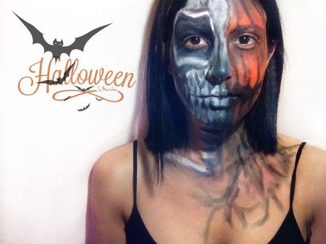 The Rotten Pumpkin Halloween makeup