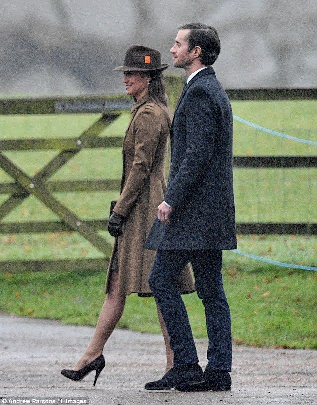 Pippa's fiance James Matthews, the older brother of Made In Chelsea bad boy, Spencer, was even invited along. The couple are set to wed later this year