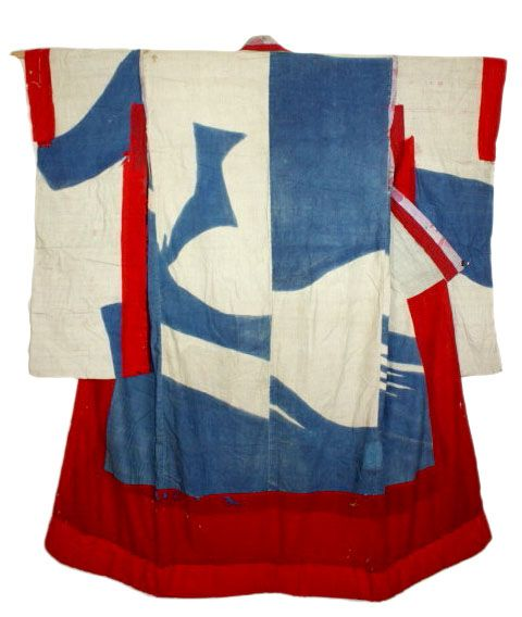 Red White and Blue Kimono