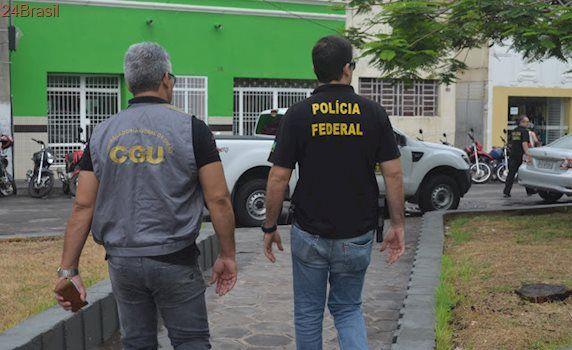 Operação da Polícia Federal cumpre mandados de prisão no interior da Paraíba