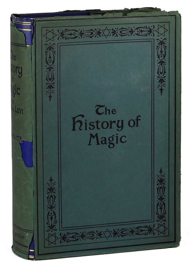 The History of Magic by Eliphas Levi 1st US Edition 1914 Occult Spell First | eBay
