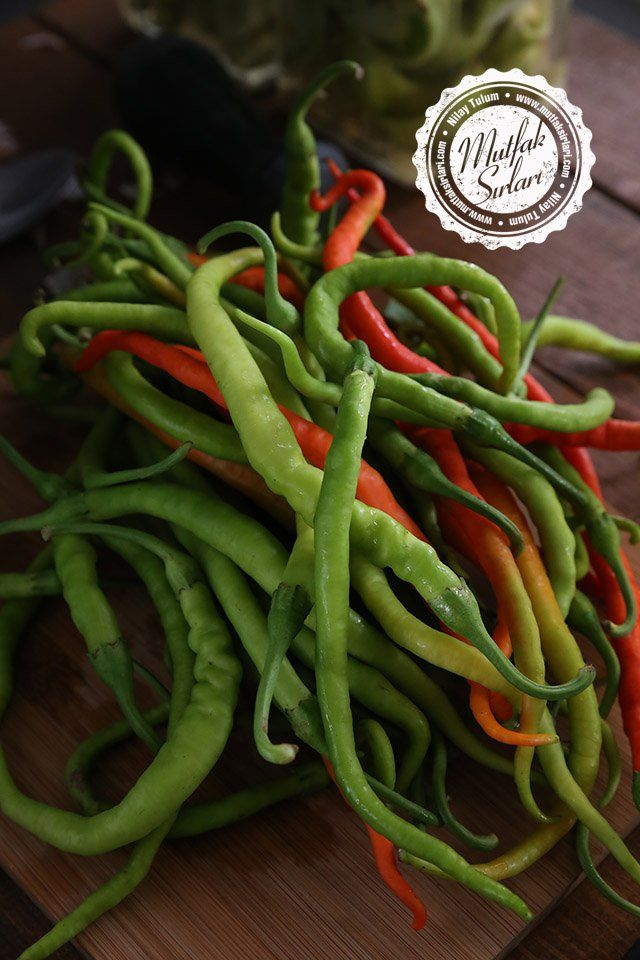 Biber Turşusu Tarifi   Mutfak Sırları