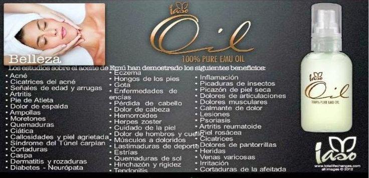 """Bajar De Peso Natural.""""cambio Total de Vida"""": La crema de Emú, el mejor aceite de Emú Iaso Oil p..."""