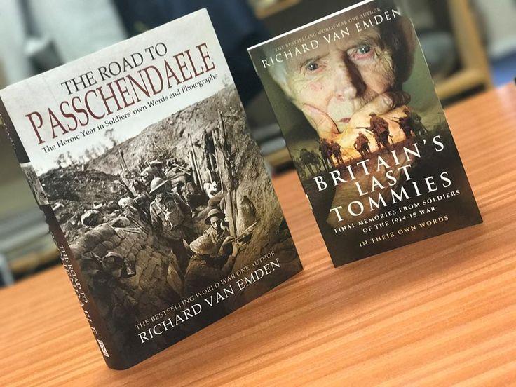 Both Richard van Emden's titles for £25   https://www.pen-and-sword.co.uk/sale/bundle/WW1-centenary-anniversary-offer-both-van-Emden-titles-for-25/403