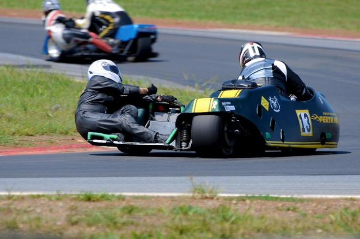 Sidecar Racing at Summit Point, WV
