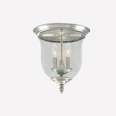 Livex Lighting 5021 3-Light Legacy Flush Mount Ceiling Light
