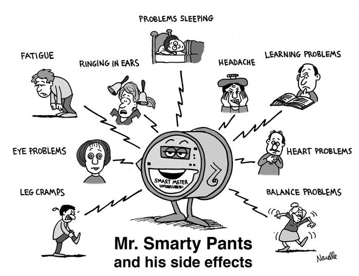 ARTICLE: Smart Meter Health Complaints http://emfsafetynetwork.org/smart-meters/smart-meter-health-complaints/