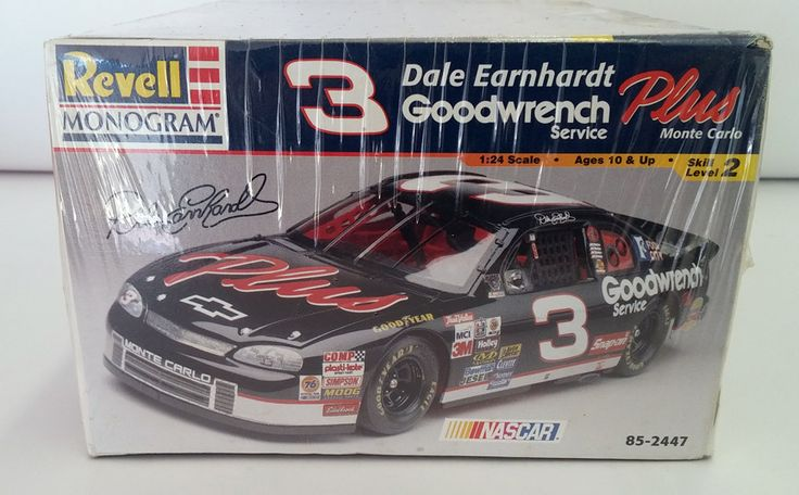 Revell Monogram Dale Earnhardt Goodwrench #3 Monte Carlo Model