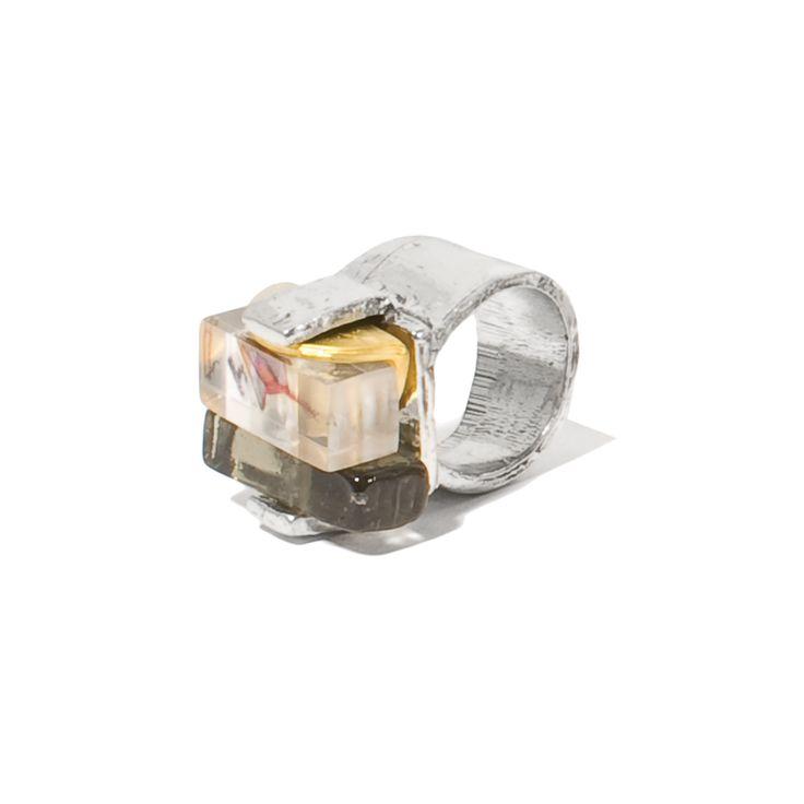 USOA CLA NEUTRAL 22K PLAQUÉ OR / GOLD-PLATED ÉTAIN / PEWTER RÉSINE / RESIN VERRE / GLASS