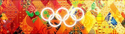 sochi.ru 2014 Patchwork as Olympic Motif