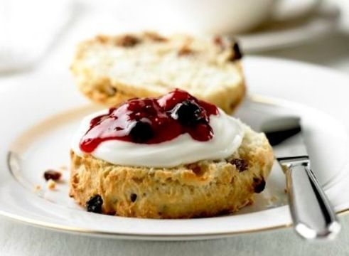 Scones Everyone loves a classic English tea time, scones, clotted cream, jam and a raised pinky finger makes for the perfect afternoon