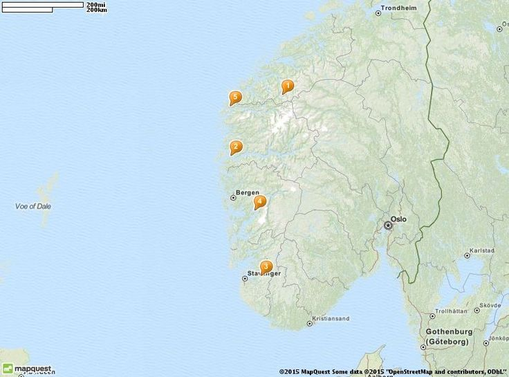 Best Europe Norway Images On Pinterest Norway Europe And - Mapquest norway