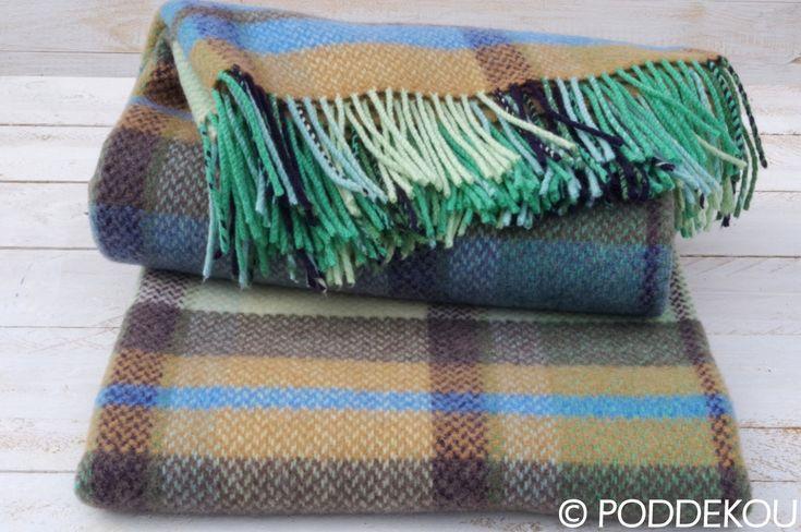 Merino kašmírová deka - viacfarebná   PODDEKOU