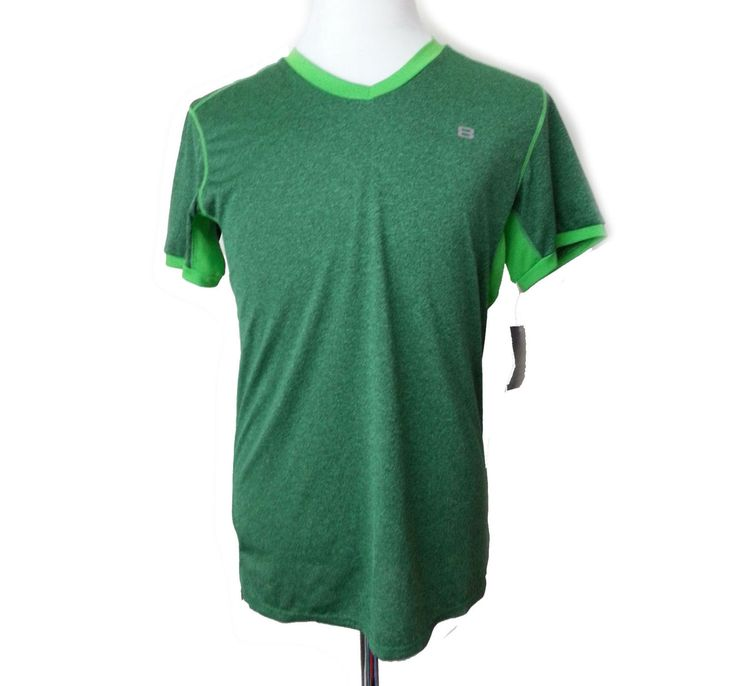 #ebay Layer 8 Performance Green T-shirt - Short Sleeve (For Men) SZ S MSRP $ 20.00 withing our EBAY store at  http://stores.ebay.com/esquirestore