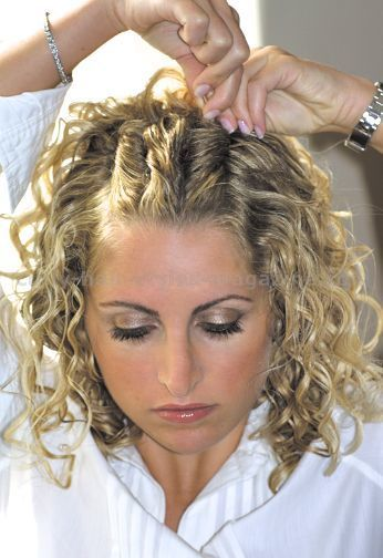Curly Hair Looks Step By Step. Curly Hairstyles. Prom ...