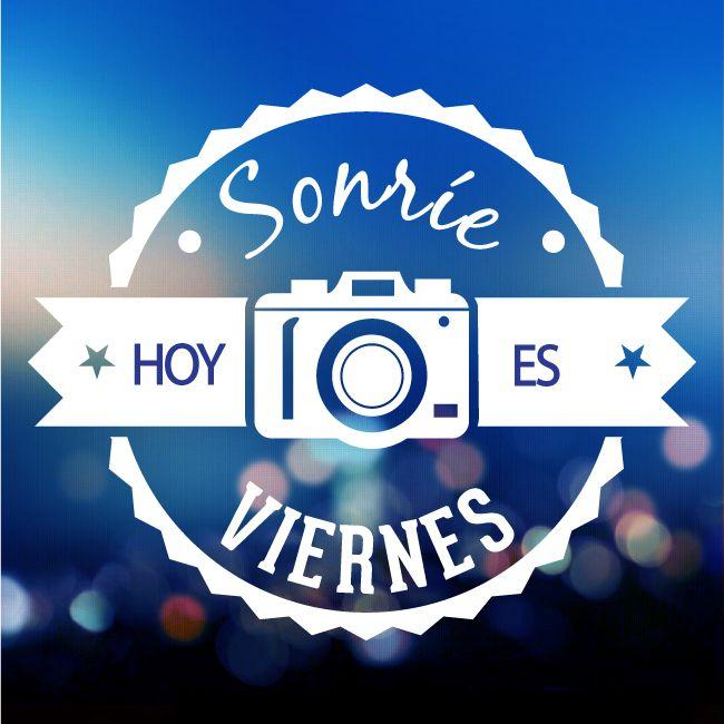 Vamos a sonreir a este #viernes y a disfrutar del fin de semana!! #frases #felizviernes
