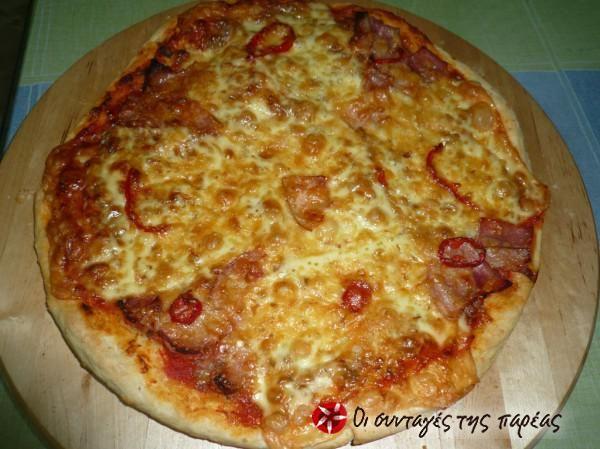 Λαχταριστή+πίτσα+με+κιμά:+Μια+σπέσιαλ+γεύση!!!+#sintagespareas