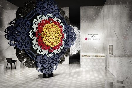 The Rational and Emotional Worlds  Marcel Wanders' concept of two opposite worlds for the LG Hausys stand at Milan Design Week 2015 is not just a space arrangement – it is an experience.