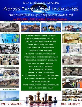 Chennai Leading Corporate Training Partner ISDTIS www.anytraininganywhere.com / 9176733557