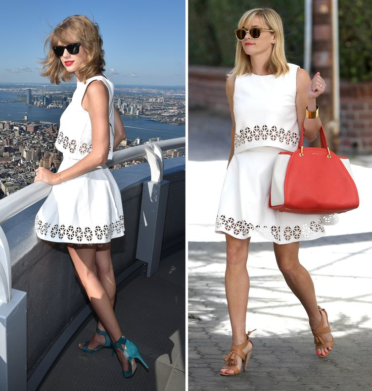Taylor Swift & Reese Weatherspoon 'fashion' face-off!