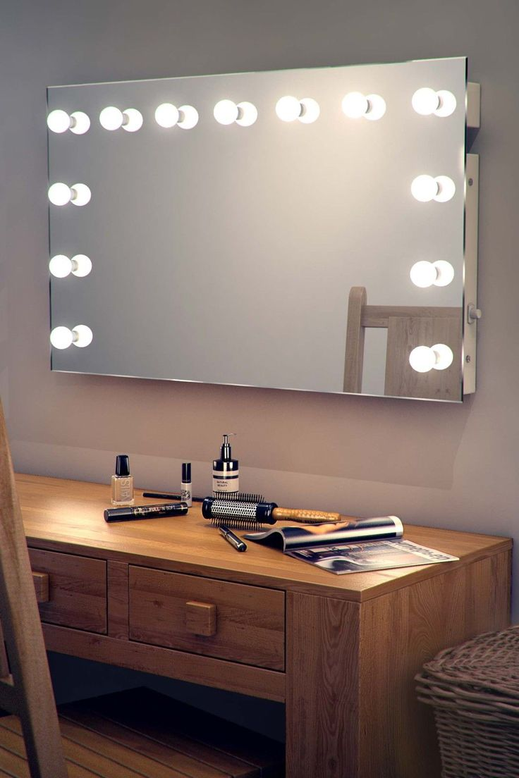 Gallery For Website Ideas for Making your Own Vanity Mirror with Lights DIY or BUY